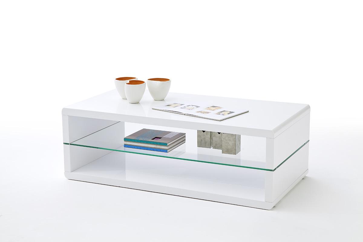 stolik kawowy w białym kolorze